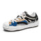 Men Stylish Color Blocking Fabric Sport Outdoor Casual Shoes - Black