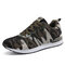 Women Camouflage Mesh Slip Resistant Casual Athletic Sneakers - Camo