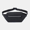 Men Multi-carry Anti -theft Waterproof Casual Crossbody Bag Chest Bag Sling Bag - Black