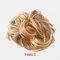 7 цветов фрикадельки Парик Волосы кольцо Волосы Сумка Волосы аксессуары матовый высокотемпературный шелк Волосы кольцо для укладки Инструмент - 07