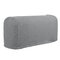 2 Pcs Silky Universal Elastic Armrest Cover Cover Towel Non-slip Knitted Single And Double Thick Sofa Cover - Grey