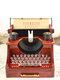 Mother's Day Vintage Nostalgic Typewriter Clockwork Music Box Decoration Gift - #01