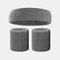 15 colori Soft Set di fascia per lo sport con fascia da polso per asciugamano Set di fascia per la fascia assorbente da sudore per sport sportivo - 16
