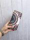 Women Ethnic Print 6.5 Inch Phone Bag Money Clip Wallet Purse - #03