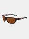 نظارة شمسية رجالية بإطار كامل ومضادة للأشعة فوق البنفسجية مستقطبة غير رسمية للقيادة الرياضية في الهواء الطلق - #01