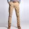 Men's Cargo Pants Multi Pockets Outdoor Camo Casual Pants - Khaki