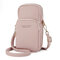 Women Solid Phone Bag Casual Crossbody Bag