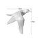 Europeo 3D estéreo pared resina pájaro pared fondo ornamento hogar artesanía decoración - #2