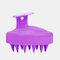 Hair Scalp Massager Shampoo Brush Head Scalp Massage Brush Remove Dandruff Promote Hair Growth Shampoo Brush - Purple