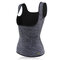 Plus Size Neoprene Tummy Control Sports Burn Fat Push Busty Slimming Vest For Daily Outfits Dating