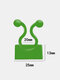 10pcs Invisible Wall Rattan Clamp Clip Invisible Wall Vine Climbing Sticky Self-adhesive Hook Rattan Fixed Clip Bracket Plant Stent Supporter - Green-L