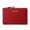 PU Leather 19 Card Slot Holder Hasp Long Purse Clutches Bags - Red