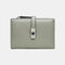 Women Hollow Out Coin Purse 6 Card Slots Wallet - Green