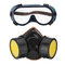 Gas Mask Protection Filter Chemical Respirator Safety Dust Mask - 4