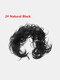 14 Colors Long Curly Wig Piece Disk Hair Caterpillars Hair Packs Bride Hair Extensions - #02