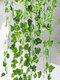 2mシミュレーション植物壁掛けプラスチック偽人工植物緑のつる籐ガーランドガーデンホームウォールホテル結婚披露宴の装飾 - #04