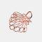 幾何学的な金属の髪の爪半円の月の形のヘアクリップ爪マットヘアピンヘアアクセサリー  - 1