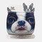Cute Pet Pattern Warm Plush Mask - 04