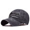 Men Women Cotton Washed Sunshade Always Embroidery Baseball Cap Hip-hop Adjustable Hat Snapback Cap - Black