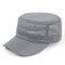 Hombres Mujer Verano malla ajustable plana Sombrero al aire libre Casquillo de visera transpirable deportivo ocasional
