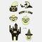 Halloween Luminous Tattoo Children Cartoon Stickers Body Art Waterproof Fake Temporary Tattoo Transfer Paper - 19