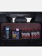 Faux Leather Car Rear Seat Back Storage Bag Multi-use Car Trunk Organizer Auto Stowing Tidying Auto Interior Accessories - #01