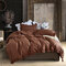 3Pcs Concise Nordic Style Bedding Set Twin Queen King Size Quilt Cover Pillowcase