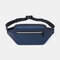 Men Multi-carry Anti -theft Waterproof Casual Crossbody Bag Chest Bag Sling Bag - Blue