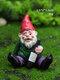 ドワーフおかしいミニチュア妖精の庭おしっこ酔ったノームエルフの装飾品手工芸品屋外樹脂盆栽庭の装飾 - #03