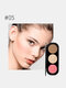 3 Colors Blush Palette Brighten Complexion Three-Dimensional Highlighters Palette - #05