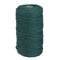 1Pc 200mx3mm Color Cotton Rope Cotton Thread Braiding Rope Hand DIY Decorative Rope Tapestry Weaving Rope - Dark Green