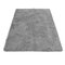 120x170 سنتيمتر منفوش البساط المضادة للانزلاق الأشعث البساط غرفة الطعام المنزل السجاد الكلمة حصيرة - اللون الرمادي