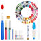 A Set Of Magic Embroidery Pen Punch Needle Kit Craft Cross Stitch Threads Embroidery Hoop DIY Sewing Accessory Tools Kit For Beginners - #2