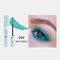 3D Colorful Mascara Long Curling Thick Silky Waterproof Lasting Eyelash Extension Beauty Makeup - Green
