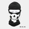 Halloween Outdoor CS Head Cover Skull Pattern Mask - #01