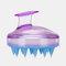 Hair Scalp Massager Shampoo Brush Head Scalp Massage Brush Remove Dandruff Promote Hair Growth Shampoo Brush - Light Purple