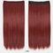 26 цветов длинные прямые Волосы удлинители 5 зажимов ложные Волосы шт. Высокотемпературное волокно Парик - 16