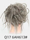 41 Colors Chicken Tail Hair Ring Messy Fluffy Rubber Band Curly Hair Bag Wig - 06