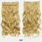 38 цветов синтетические Волосы удлинители 5 зажимов ложные Волосы шт. Длинные вьющиеся Парик - 13