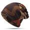 Женская зимняя теплая этническая шапка Шапка Винтаж Хорошая эластичная шапка для шарфа-тюрбана - #05