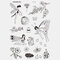 Halloween Face Temporary Tattoo Stickers Waterproof Sweatproof Breathable Art Body Fake Tattoo Transfer Paper - 13