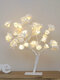 Cherry Blossom Tree Lamp LED Table Lamp Indoor Artificial Decoration Lighted Tree For Bedroom Party Wedding Office - #03