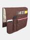 Anti-Rutsch-Sofa Stuhl Armlehne 5 Pocket Organizer Couch Fernbedienung Aufbewahrungstasche Magazin Kleinigkeiten Aufbewahrung Taschen - Kaffee