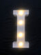 LED English Letter And Symbol Pattern Night Light Home Room Proposal Decor Creative Modeling Lights For Bedroom Birthday Party - #09
