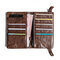 Men Card Holder Long Wallet Phone Bolsa Bolsa Vintage