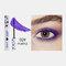 3D Colorful Mascara Long Curling Thick Silky Waterproof Lasting Eyelash Extension Beauty Makeup - Purple
