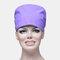 Solid Color Scrub Cap Surgical Hat Nurse Doctor Cap Veterinarian Hat  - Light Purple