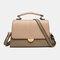 Women Patchwork 6.5 Inch Phone Crossbody Bag Handbag - Green
