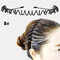 スポーツスタイル男性女性ヘッドバンドヘアピンフェイスウォッシュバックプレッシャーヘアノンハートヘアヘアアクセサリー - 6