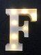LED English Letter And Symbol Pattern Night Light Home Room Proposal Decor Creative Modeling Lights For Bedroom Birthday Party - #06